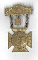 Image of Knights Templar Badge - Trinity Commandry  KT - 1981.145.073