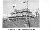Image of Postcard, Uncanoonuc Hotel, Summit of Uncanoonuc Mountain - 1982.032.008