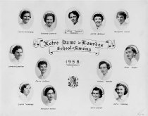 Image of Notre Dame School of Nursing Class of 1958 - 1983.100.010