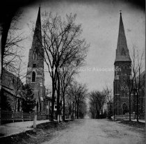 Image of Grace Episcopal Church; St. Joseph's Cathedral, Pine and Lowell Streets - 1983-101-001-A