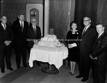 Image of Group Portrait— Chicopee Manufacturing Company Annual Dinner - 1966 - 1983.542.001