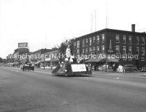 Image of Festival of St. John the Baptist - Saint Anthony's Parish float - 1950. - 1983.518.001