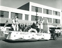 Image of Festival of St. John the Baptist - Parish of St. Anthony float - 1950. - 1983.518.016