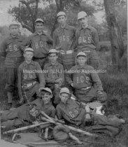 Image of Group Portrait— Bakersville School Baseball Team - 1989.011L.001