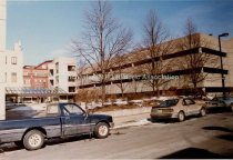 Image of Amoskeag Bank Parking Garage from Manchester Street - 1989 - 1990.083L.002
