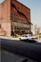 Image of Rear of the International Order of Odd Fellows Building, Hanover Street - 1989 - 1990.083L.007