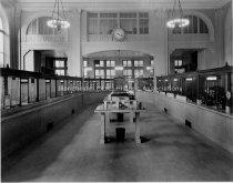 Image of Amoskeag Bank Lobby, Looking Towards Nutfield Lane - 1991.065.B