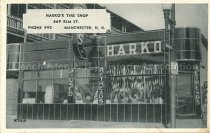 Image of Postcard, Harko's Tire Shop, 569 Elm St., Phone 992, Manchester, N.H. - 1992.011L.007