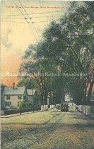 Image of Postcard, Granite Street from Bridge, West Manchester, N.H. - 1994.115L.003