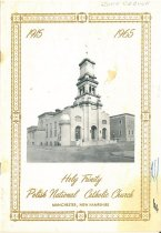 Image of Holy Trinity Polish National Catholic Church 50th Anniversary Program - 1996.040.002