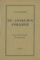 Image of Catalog - St. Anselm's College - 1917 - 1996.061.058