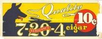Image of R.G. Sullivan's 7-20-4 10¢ Cigars - 1996.061.071