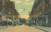 Image of Postcard, Hanover Street, Manchester, N.H. - 1996.063.001