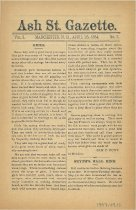 Image of Ash Street Gazette - 1997.049.016-018