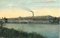 Image of Postcard, New Manchester Mill, Manchester, NH - 1999.016.001