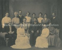 Image of 1907 Manchester High School Faculty - 1999.028.001
