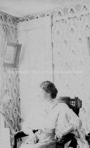 Image of Copy Photograph— Interior Portrait of Margaret Estes, 45 High Street (?) - 2000.500.115