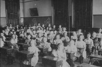 Image of Group Portrait— Main Street School and Class - 2000.500.196
