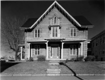 Image of Concord Street East of Maple, Stone House used as a Maternity Hospital - 1978 - 2000.501.008
