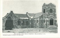 Image of Postcard, New Chapel, Pine Grove Cemetery, Manchester, N.H. - 2001.L002.003