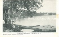 Image of Postcard, Kimball's Point, Lake Massabesic, N.H. - 2001.L002.005