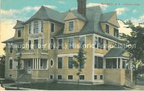 Image of Postcard, Manchester, N.H. Children's Home - 2001.L042.001