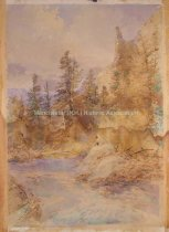 Image of Mountain River Scene - 2004.011.001