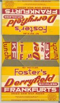 Image of Foster's Derryfield Skinless Frankfurts box - 2005.014.001