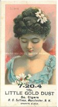 Image of Trade card for cigars made by R. G. Sullivan Co. - 2005.L023.002