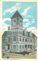 Image of Postcard, Post Office, Manchester, NH - 2005.L522.016