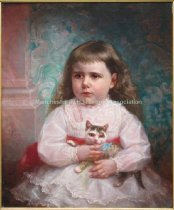 Image of Child with Cat - 2007.006.001