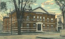 Image of Postcard, Hillsboro County Court House, Manchester, N.H. - 2008.L025.023