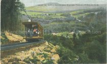 Image of Postcard, Down the Incline, Uncanoonuc Mountain Railway, Goffstown, N.H. - 2008.L025.044