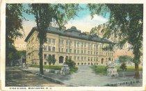Image of Postcard, High School, Manchester, N.H. - 2008.L025.053