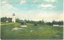 Image of Postcard, Observatory and Cannon, Oak Hill Park, Manchester, N.H. - 2008.L025.055