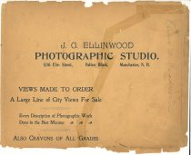 Image of J. G. Ellinwood Photographic Studio - 2010.L001.004