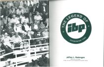 Image of The legend of IBP : established 1960 / Jeffrey L. Rodengen ; edited by Jon VanZile ; design and layout by Jill Apolinario & Rachelle Donley. - Rodengen, Jeffrey L.
