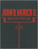 Image of John B. Varick Co. Catalog Number 38 - Varick, John B., Company, Manchester, N.H.