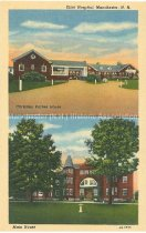 Image of Postcard, Elliot Hospital, Manchester, N.H. - 2010.L009.011.2