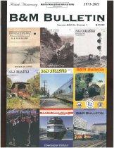 Image of B&M Bulletin Vol. XXVIII, No. 1. -