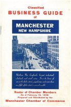 Image of Classified Business Guide of Manchester New Hampshire - 2011.021.057
