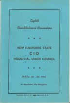 Image of Eighth Constitutional Convention - New Hampshire State CIO Industrial Union Council - 2011.060.004