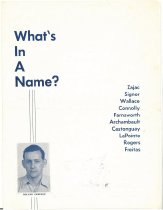 Image of What's In A Name? - 2011.060.006