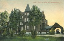 Image of Postcard, Elliott Hospital, East Manchester, N.H. - 2011.067.002