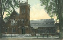 Image of Postcard, City Library, Manchester, N.H. - 2011.067.008