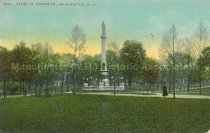 Image of Postcard, 203. View in Common, Manchester, N.H. - 2011.080.009