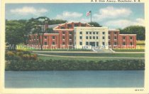Image of Postcard, N.H. State Armory, Manchester, N.H. - 2012.027.021