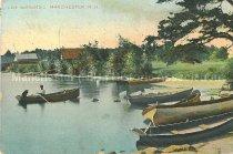 Image of Postcard, Lake Massabesic, Manchester, N.H. - 2012.027.033