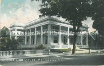 Image of Postcard, Calumet Club House, Manchester, N.H. - 2012.027.062