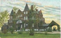 Image of Postcard, Elliot Hospital, Manchester, N.H. - 2012.027.066